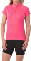 Canari Optic Nerve Cycling Jersey - Zip Neck, Short Sleeve (For Women)