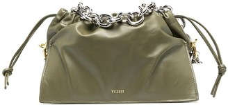 Yuzefi Small Leather Drawstring Tote Bag