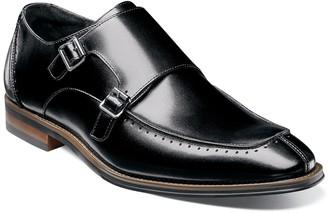 Stacy Adams Baldwin Moc Toe Double Strap Monk Shoe
