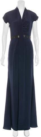Derek Lam Draped Maxi Dress