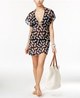 Miken Pineapple-Print Chiffon Cover-Up