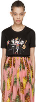 Dolce & Gabbana Black Family T-shirt