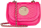 Hill & Friends Pink Python Happy Tweency Chain Bag