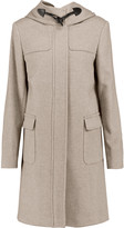 Joseph Hooded wool and cashmere-blend coat