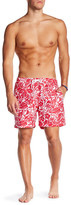 Trunks San O Tropical Woodblock Swim Trunk