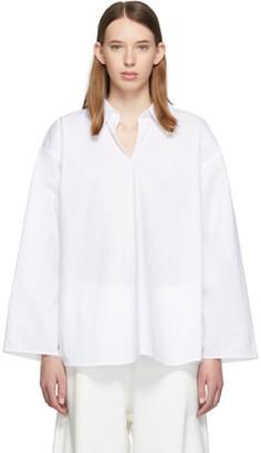 MM6 MAISON MARGIELA White Keyhole Shirt
