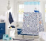 Pottery Barn Kids Under the Sea Shower Curtain