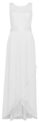 Dorothy Perkins Womens **Showcase White Bridesmaids Naomi Waterfall Maxi Dress, White