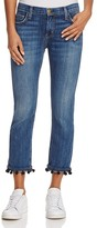 Current/Elliott The Cropped Straight Jeans in New Love - 100% Exclusive
