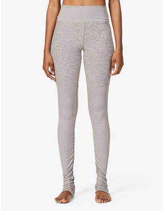 Alo Yoga Goddess Airbrush high-rise stretch-woven leggings