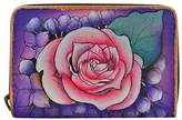 Anuschka Women's Credit And Business Card Holder - Lush Lilac Business Card Cases
