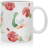 DENY Designs Wonder Forest Mystical Mermaids Mug