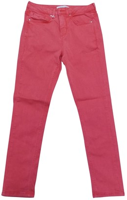 Gerard Darel Red Cotton - elasthane Jeans for Women