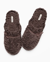 Soma Intimates Luxe Marble Slippers Java