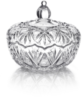 Mikasa Saturn Glass Covered Candy Dish