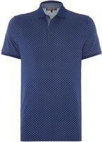 Michael Kors Slim Fit Geo Print Polo Shirt