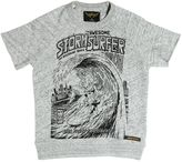Finger In The Nose Stormsurfer Printed Cotton Sweatshirt
