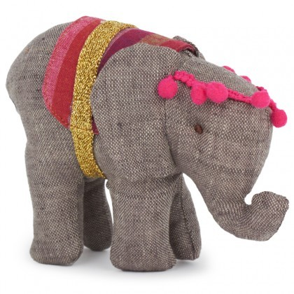 Maileg Gray Circus Elephant
