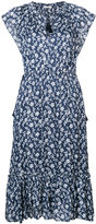 Ulla Johnson flutter sleeve floral dress - women - Silk/Cotton/Viscose - 2