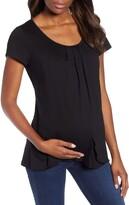 Angel Maternity Petal Front Maternity Shirt