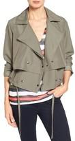 Petite Women's Halogen Soft Utility Jacket