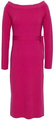 Robert Rodriguez Wool-blend Knitted Dress