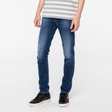 Paul Smith Men's Slim-Fit Dark-Wash Italian Stretch-Denim Jeans