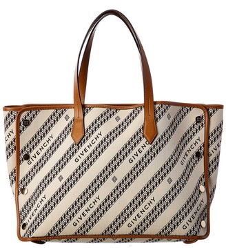 Givenchy Bond Medium Canvas Shopper Tote