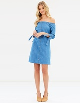Dorothy Perkins Flute Sleeve Bardot Dress