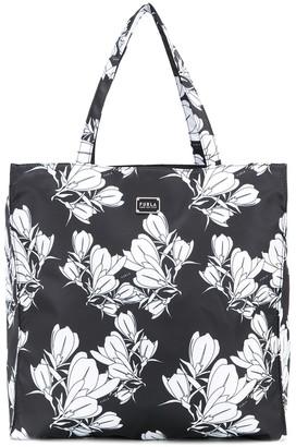 Furla Toni floral print tote bag