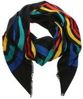 Marc Jacobs Vintage Multicoloured Striped Logo Stole