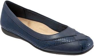 Trotters Slip-On Textured Flats - Sharp