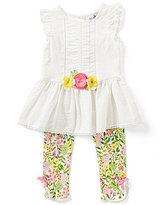 Rare Editions Baby Girls 3-24 Months Tunic & Floral Legging Set