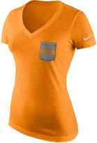 Nike Women's Tennessee Volunteers Tri Mid-V Pocket T-Shirt