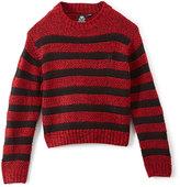English Laundry Engine Red & Black Stripe Sweater - Boys