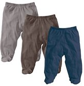 Baby Soy O Soy 3-piece Footie Pants Set for Boys, 6-12M