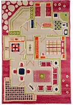 Luca & co LUCA & CO PLAYHOUSE RUG-PINK