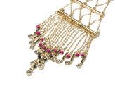 Oasis Beaded Fringe Necklace