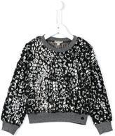 Kenzo 'Abba' leopard print sweatshirt - kids - Polyester - 2 yrs