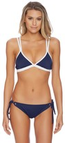 Nautica Soho Colorblock Triangle Bikini Top