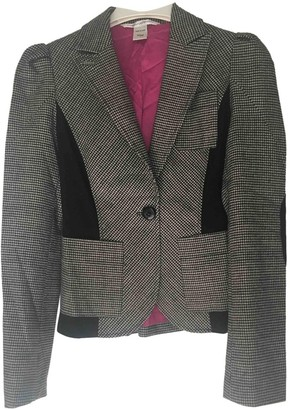 Diane von Furstenberg Grey Tweed Jackets