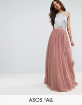 ASOS Tall ASOS TALL Tulle Maxi Prom Skirt