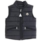 Moncler Gui Waistcoat Down Jacket With Logo