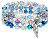 Lonna & Lilly Three-Row Multi-Faceted Bracelet