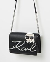 Karl Lagerfeld K/Ikonik Shoulder Bag