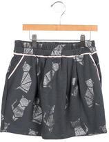 Little Marc Jacobs Girls' Metallic Printed Skirt
