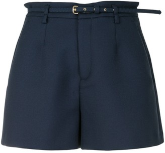 RED Valentino Belted Straight Shorts
