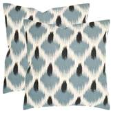 Safavieh Blue Alex Throw Pillow Set of 2