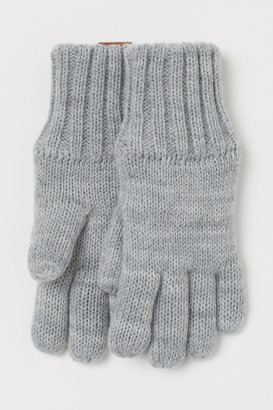 H&M Lined Gloves - Gray