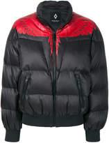 Marcelo Burlon County of Milan cropped puffer jacket